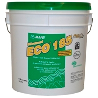 MAPEI ECO-185 FTR 4G PAIL SOLVENT-FREE CARPET ADHESIVE FAST TRACK READY