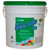 MAPEI ECO-360 GALLON ADHESIVE HOMOGENEOUS PREMIUM HARD-SETTING FOR SOLID VINYL