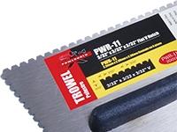 POWERHOLD PWR-11 TROWEL ERGO GRIP 3/32x3/32x3/32 FLAT V