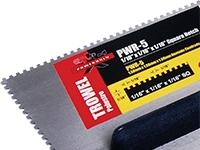 POWERHOLD PWR-5 TROWEL ERGO GRIP 1/16x1/16x1/16 SQ