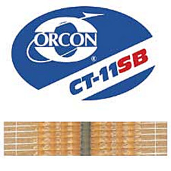 ORCON CT-11SB 22yd ROLL BEADED HOT MELT TAPE