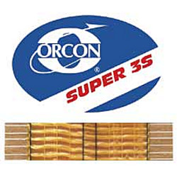 ORCON SUPER 3S 22yd ROLL FLAT HOT MELT TAPE