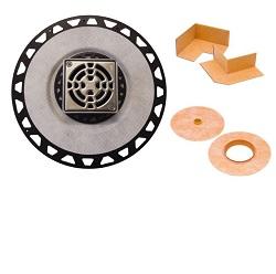 SCHLUTER KD2/PVC/E KERDI-DRAIN KIT 2