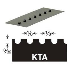 GUNDLACH 680-KTA 3/32x1/8x1/8 U VERSABLADE TROWEL BLADE