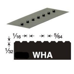 GUNDLACH 680-WHA 1/32x1/16x5/64 U VERSABLADE TROWEL BLADE