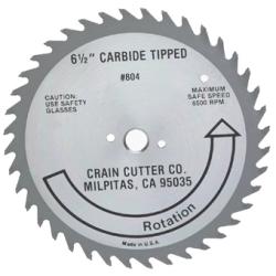 CRAIN 804 SUPER SAW CARBIDE TIPPED BLADE