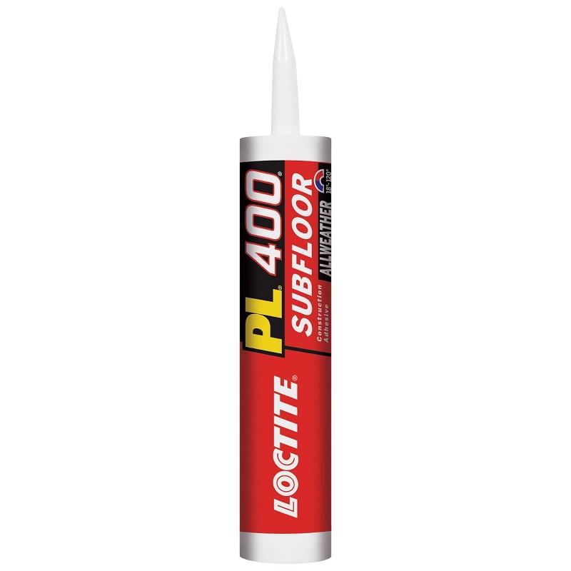 LOCTITE PL-400 28oz CTG LOW VOC HD SUBFLOOR FLOOR & DECK ADHESIVE