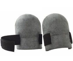 CRAIN 200 RUBBER KNEE PADS w/ VELCRO STRAPS
