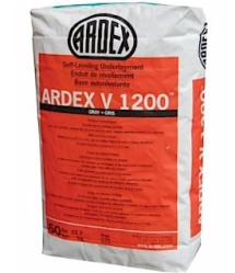 ARDEX V-1200 50# BAG GRAY SELF LEVELING FLOOR UNDERLAYMENT