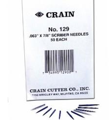 CRAIN 129 SCRIBER NEEDLES 50pk
