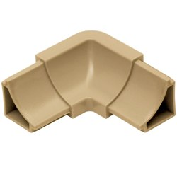 SCHLUTER I/HKW2R18/HB DILEX-HKW IN CORNER 2-WAY LIGHT BEIGE