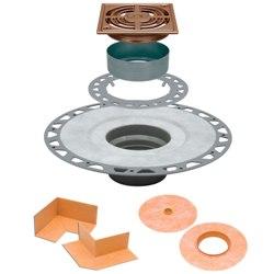 SCHLUTER KD2/PVC/AKGB KERDI-DRAIN KIT 2