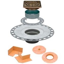 SCHLUTER KD2/PVC/EOB KERDI-DRAIN KIT 2