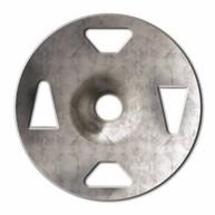 SCHLUTER KB-ZT-32-Z KERDI-BOARD ZT GAL STEEL TAB WASHER 1-1/4