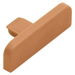 SCHLUTER E26/NB TREP-SE/-S END CAP PVC NUT BROWN