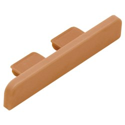 SCHLUTER E52/NB TREP-B END CAP PVC NUT BROWN