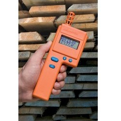 DELMHORST HT-3000-w/CS w/ CASE AMBIENT RELATIVE HUMIDITY METER