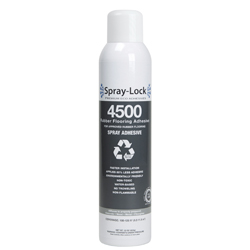 SPRAY-LOCK 4500 22oz CAN APPROVED RUBBER FLOORING ADHESIVE