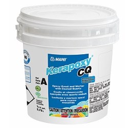 MAPEI KERAPOXY CQ 27 SILVER 1G KIT PREMIUM EPOXY GROUT AND MORTAR WITH COATED QUARTZ