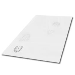 "SURFACE SHIELD CM-3636W4 WHITE 4pk 36""x36"" CLEAN MAT"