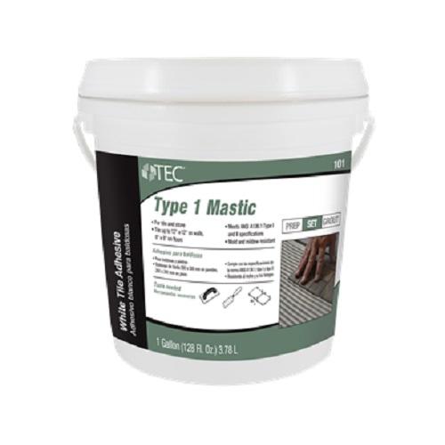 TEC 101-03 GALLON CERAMIC TILE ADHESIVE TYPES I & II