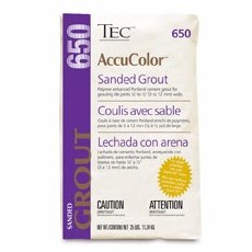 TEC 650-15-945 25# LIGHT BUFF ACCUCOLOR PREMIUM SANDED GROUT