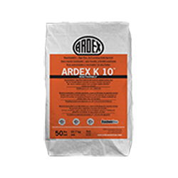 ARDEX K-10 50# SELF LEVEL HIGH FLOW REACTIVATABLE UNDERLAYMENT CONCRETE
