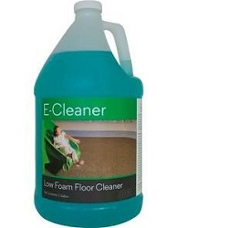 FISHMAN SPORTS E-CLEANER GALLON PH7 NEUTRAL FLOOR CLEANER FOR RUBBER SPORTS FLOORING