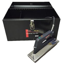POWERHOLD PH-143 SEAMING IRON KIT SEAM IRON W/CASE