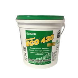 MAPEI ECO-420 GALLON LATEX BASED ALL WEATHER ADHESIVE