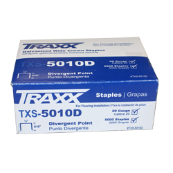 "TRAXX 5010D 5m BOX 5/16"" PAD STAPLES"