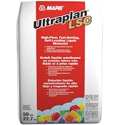 MAPEI ULTRAPLAN LSC 50# BAG HIGH FLOW LIQUID SKIM COAT AND SELF LEVELING UNDERLAYMENT