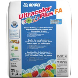 MAPEI ULTRACOLOR PLUS FA 25# 49 LIGHT ALMOND PREMIUM RAPID-SET ALL-IN-ONE GROUT w/ POLYMER