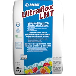 MAPEI ULTRAFLEX LHT 50# GRAY LARGE & HEAVY TILE MORTAR WITH POLYMER