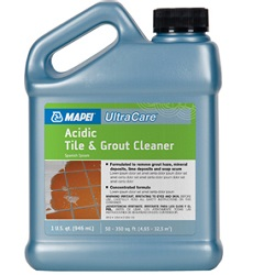 MAPEI ULTRACARE ACIDIC TILE & GROUT CLEANER 32oz