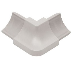 SCHLUTER A/HKW/PG DILEX-HKW OUT CORNER LIGHT GREY