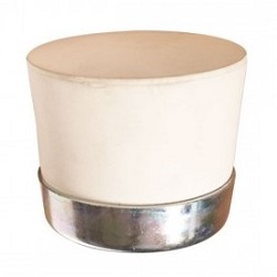 POWERNAIL WHITE MALLET REPLACEMENT CAP w/ STEEL RING