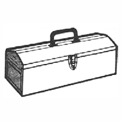 FISHMAN FFS-126.448 LEISTER TOOL BOX FOR GROOVER