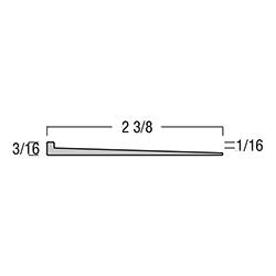 TREDSAFE DT040 MILL FINISH 8.2' 1/16