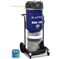 BLASTRAC BDC-122 DUST COLLECTOR MID-SIZE VACUUM 110V 190CFM