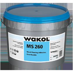 WAKOL MS-260 3G PAIL WOOD FLOORING ADHESIVE