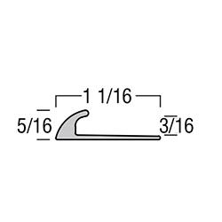 TREDSAFE DT032 NATURAL SATIN 6' 3/16