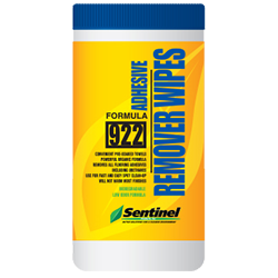 SENTINEL 922 WIPES 60pk URETHANE REMOVER