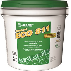 MAPEI ECO-811 GALLON UNIVERSAL CARPET TILE ADHESIVE