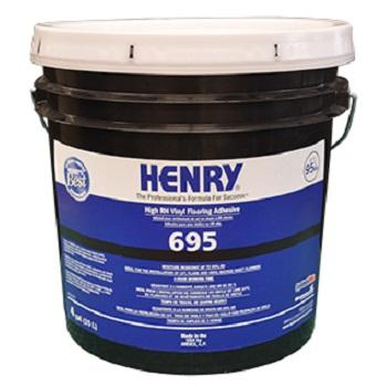 HENRY 695 4G PAIL HIGH RH PREMIUM VINYL FLOORING ADHESIVE