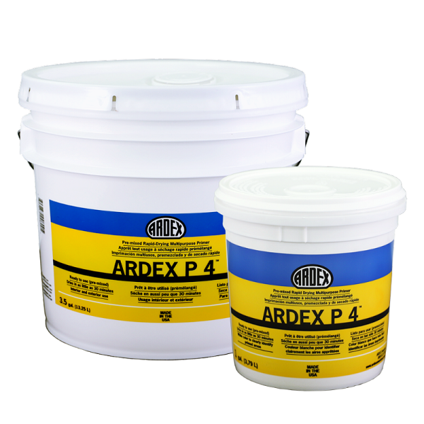 ARDEX P-4 GALLON PREMIXED RAPID DRYING MULTIPURPOSE PRIMER