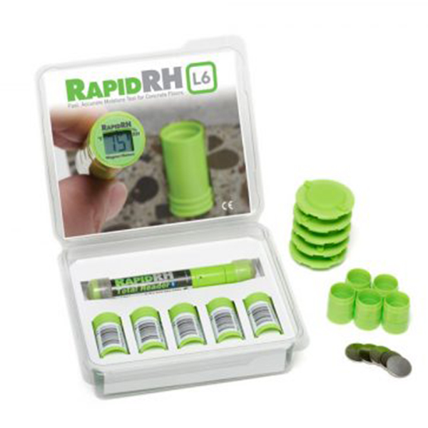 RapidRH L6 SMART SENSOR 5 PACK w/ TOTAL READER 5 SMART SENSORS & 1 TOTAL READER